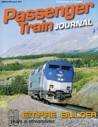 Passenger Train Journal - Image: Passenger Train Journal cover