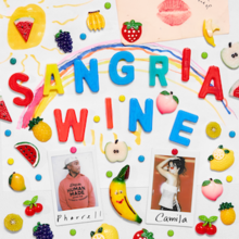 Pharrell Williams and Camila Cabello - Sangria Wine (Official Single Cover).png