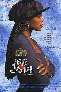 <i>Poetic Justice</i> (film) 1993 film directed by John Singleton