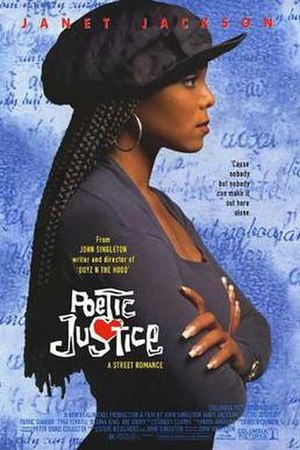 Poetic Justice (film) - Theatrical release poster