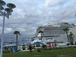 Norwegian Breakaway - Image: Port Canaveral
