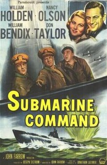 Poster of the movie Submarine Command.jpg