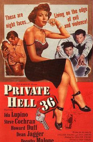 Private Hell 36 - Theatrical release poster