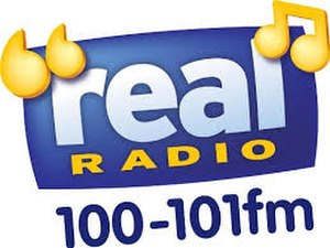 Heart Scotland - Original Real Radio logo