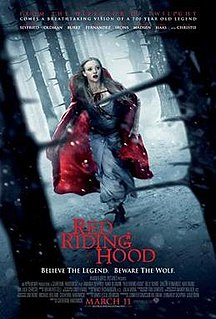 <i>Red Riding Hood</i> (2011 film) 2011 film by Catherine Hardwicke