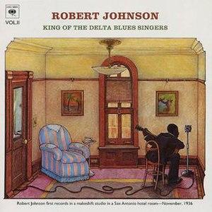 King of the Delta Blues Singers, Vol. II - Image: Robert Johnson Kingof Delta Blues Vol 2
