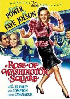 <i>Rose of Washington Square</i> 1939 film by Gregory Ratoff