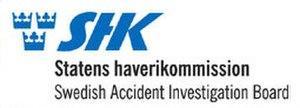 Swedish Accident Investigation Authority - Image: SHK Logo