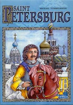 Saint Petersburg (board game) - Image: Saint Petersburg game