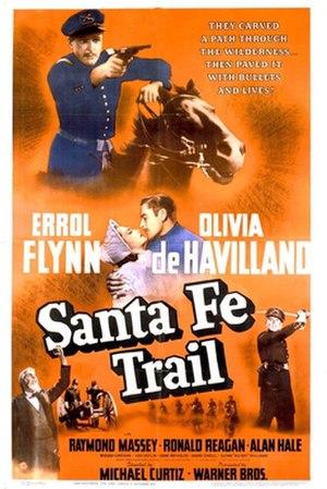 Santa Fe Trail (film) - Image: Santa Fe Trail (film) poster