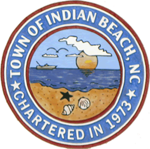 Indian Beach, North Carolina - Image: Seal of Indian Beach, North Carolina