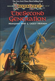 <i>The Second Generation</i> Book by Margaret Weis and Tracy Hickman