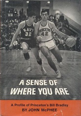 A Sense of Where You Are - First edition