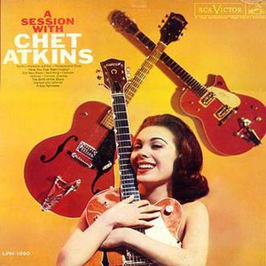 A Session with Chet Atkins - Image: Session With Chet Atkins 2