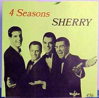 Sherry (song) - Image: Sherry The Four Seasons