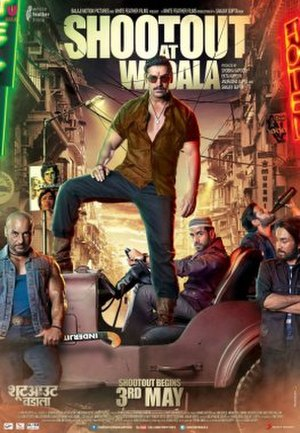 Shootout at Wadala - Theatrical release poster