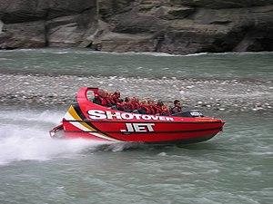 Shotover River - The Shotover Jet