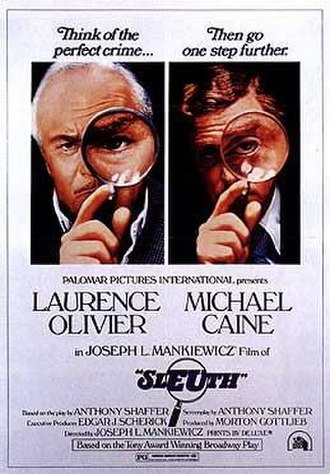 Sleuth (1972 film) - Theatrical release poster