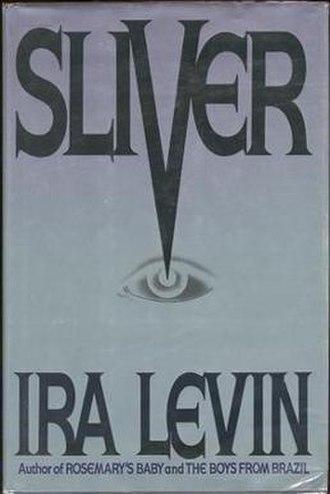 Sliver (novel) - First edition (publ. Bantam Books)