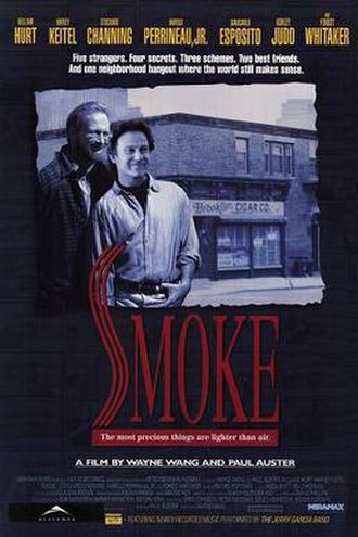 Smoke (film) - Theatrical release poster