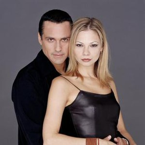 Sonny Corinthos and Carly Benson - Sonny and Carly (Maurice Benard and then-Tamara Braun)