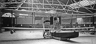 Sopwith Bat Boat - The first Sopwith Bat Boat in the factory at Kingston-Upon-Thames c.1913.