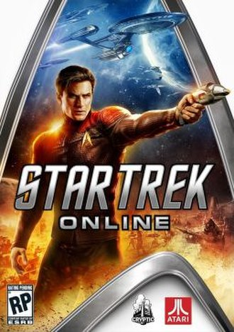 Star Trek Online - Cover art for Star Trek Online