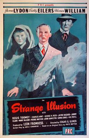 Strange Illusion - Theatrical release poster