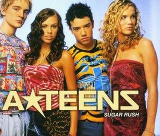 Sugar Rush (A-Teens song) 2001 single by A-Teens
