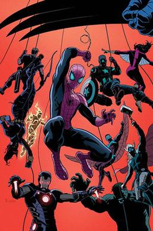 Superior Spider-Man Team-Up - Image: Superior Spider Man Team Up cover