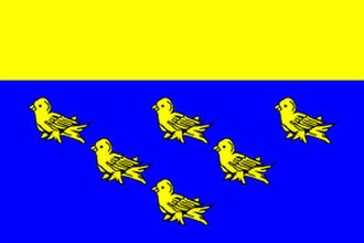"Flag of Sussex - The flag of West Sussex County Council is commercially available as the ""Flag of West Sussex"""