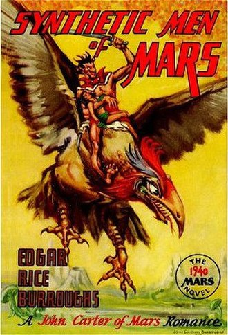 Synthetic Men of Mars - Cover of the first edition