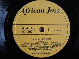 Table Ronde 1960 song composed by Le Grand Kallé performed by Le Grand Kallé
