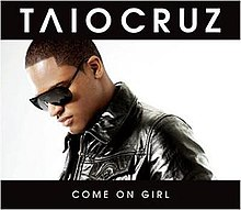 Taio Cruz featuring Luciana — Come On Girl (studio acapella)