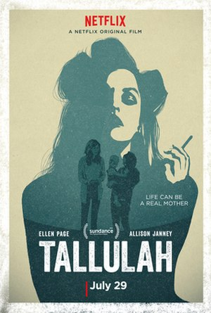 Tallulah (film) - Theatrical release poster