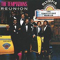 The Temptations reuinion tour. Pictured from top left: David Ruffin, Otis Williams, Melvin Franklin, Eddie Kendricks, Dennis Edwards, Richard Street, Glenn Leonard.