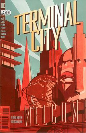 Terminal City - Cover of the 1st issue of the initial series