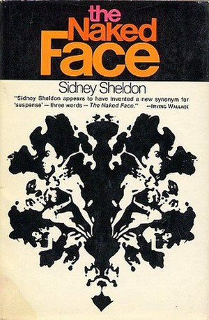The Naked Face - First edition cover with quote from Irving Wallace