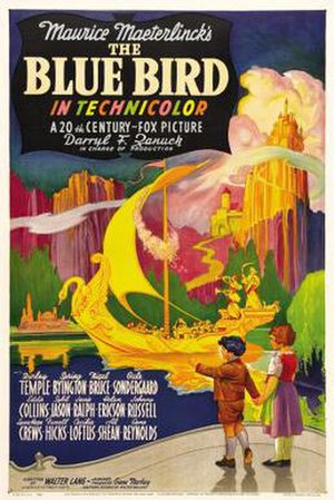 The Blue Bird (1940 film) - Theatrical release poster