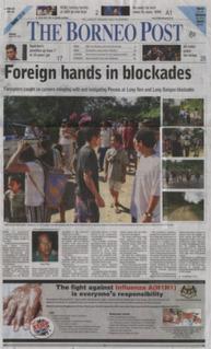 <i>The Borneo Post</i> newspaper