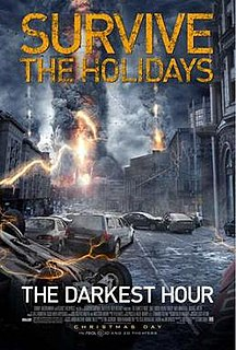 <i>The Darkest Hour</i> (film) 2011 Russian-American science fiction thriller