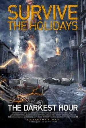 The Darkest Hour (film) - Theatrical release poster