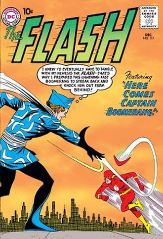 Captain Boomerang - Image: The Flash, vol. 1, no. 117