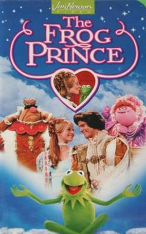 The Frog Prince (Muppets) - Cover art of the North American VHS release by Jim Henson Video in 1994.