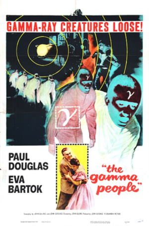 The Gamma People - Theatrical release poster