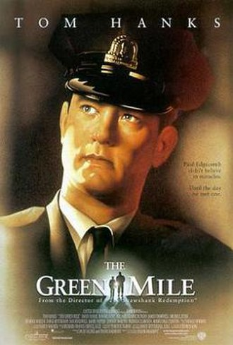The Green Mile (film) - Theatrical release poster by Drew Struzan