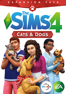 <i>The Sims 4: Cats & Dogs</i> expansion pack for Sims 4