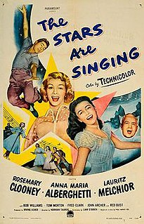 <i>The Stars Are Singing</i> 1953 film by Norman Taurog