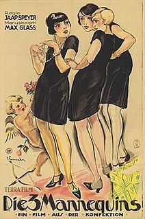 <i>The Three Mannequins</i> 1926 film