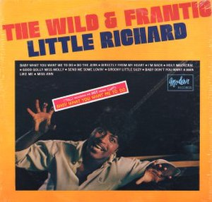 The Wild and Frantic Little Richard - Image: The Wild and Frantic Little Richard